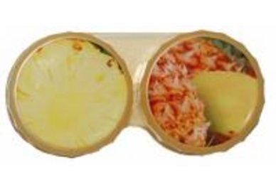 Klasické puzdro motív ovocie - Ananás