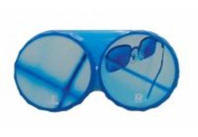 Klasické puzdro motív leto - Modré okuliare