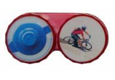 Ozdobné puzdro - Cyklista