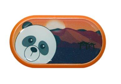 Ozdobné púzdro so zrkadielkom Indie - Panda
