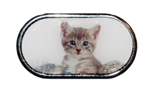 Púzdro so zrkadielkom Vianočný motív - Mačiatko