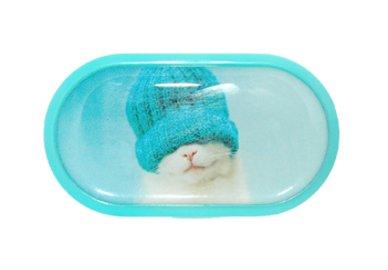Púzdro so zrkadielkom motív Mačky - Mačiatko v kulichu