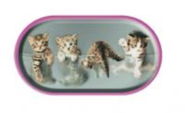 Púzdro so zrkadielkom motív Mačky - Mačiatka