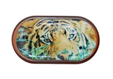 Púzdro so zrkadielkom Divoká zvieratá - Tiger