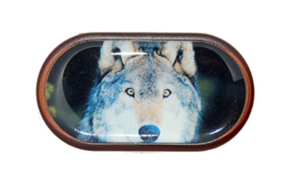 Púzdro so zrkadielkom Divoká zvieratá - Vlk