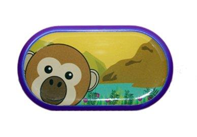 Ozdobné púzdro so zrkadielkom ZOO - Opice
