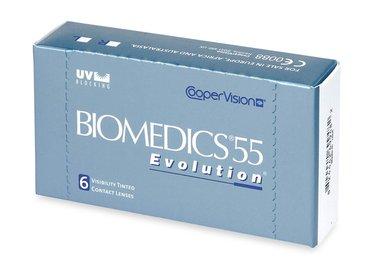 Biomedics 55 Evolution (6 šošoviek) - výpredaj skladu