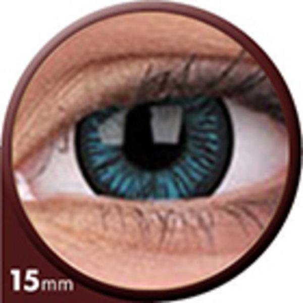 Phantasee Big Eyes - Beautiful Blue (2 šošovky trojmesačné) - dioptrické