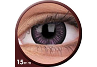 Phantasee Big Eyes - Passionate Purple (2 šošovky trojmesačné) - nedioptrické