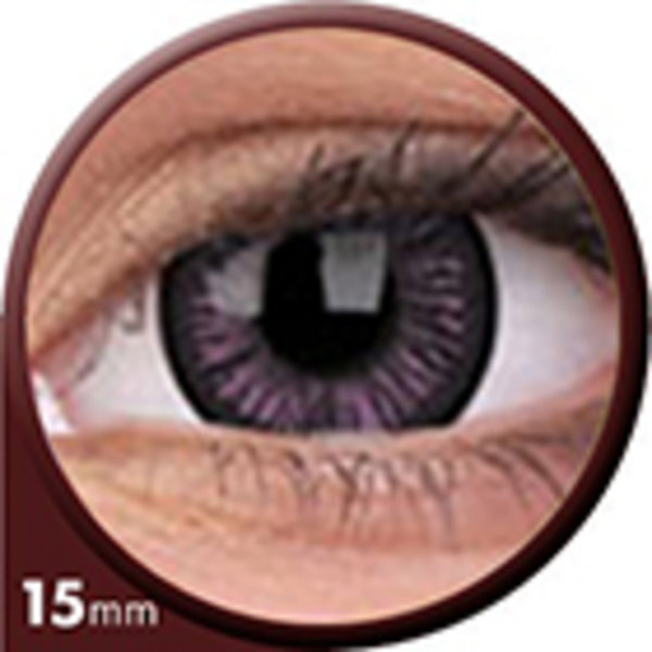Phantasee Big Eyes - Passionate Purple (2 šošovky trojmesačné) - nedioptrické - dopredaj 08/21