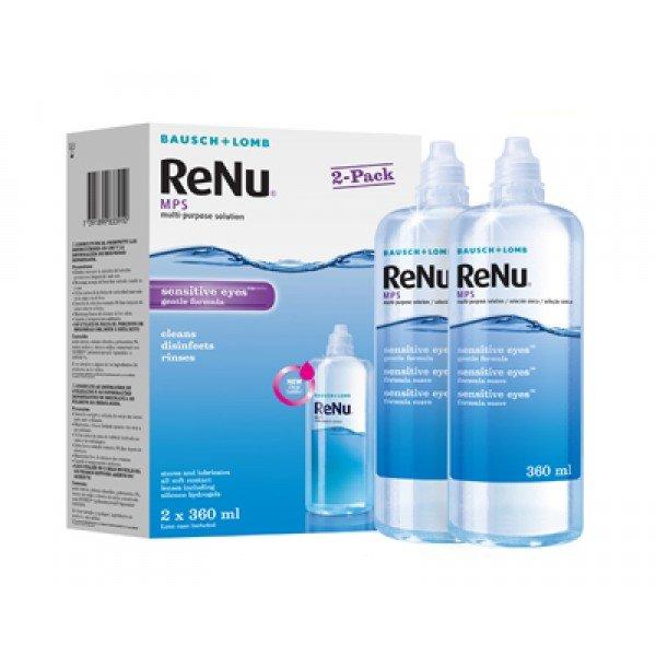 ReNu MPS Sensitive Eyes 2 x 360 ml s púzdry