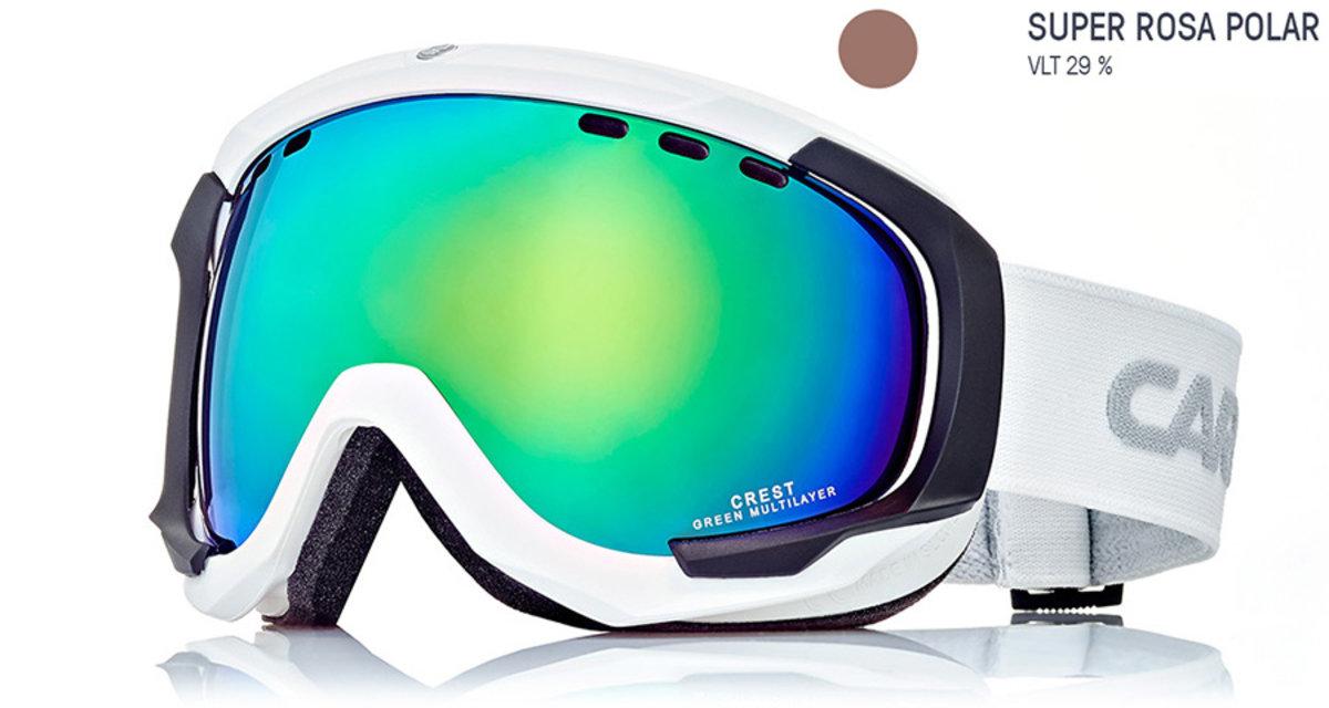914b3b8ef Lyžiarske okuliare Carrera CREST SPH - biele/rosa - Cena 86,40 € K ...