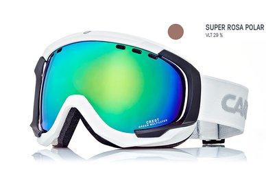 Lyžiarske okuliare Carrera CREST SPH - biele/rosa