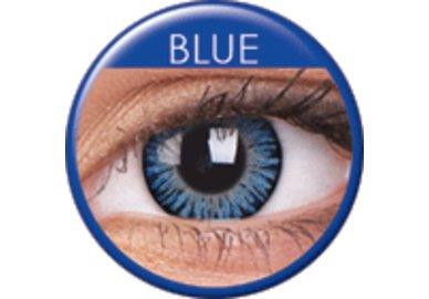 ColourVue 3 Tones - Blue (2 trojmesačné šošovky) - dioptrické