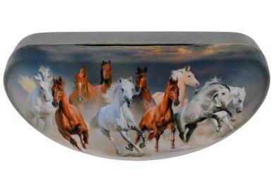 Puzdro na okuliare veľké  - koně