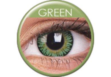 ColourVue 3 Tones - Green (2 šošovky trojmesačné) - dioptrické