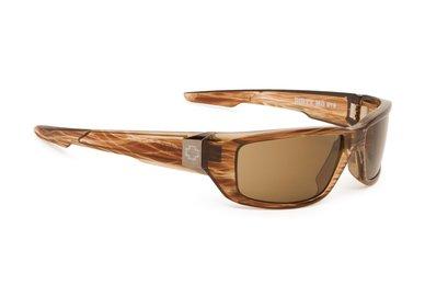 Slnečné okuliare SPY DIRTY MO - Brown Strip - polar