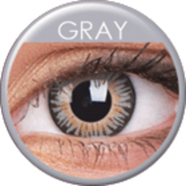 ColourVue 3 Tones - Gray (2 šošovky trojmesačné) - nedioptrické