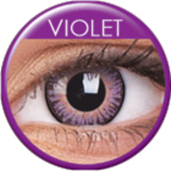 ColourVue 3 Tones - Violet (2 šošovky trojmesačné) - nedioptrické