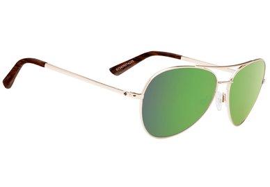 Slnečné okuliare SPY WHISTLER Gold / Green - happy