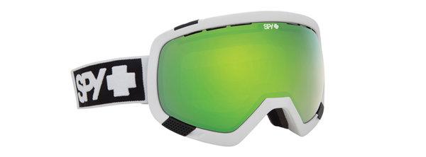 SPY Lyžiarske okuliare PLATOON - Matte White / Green