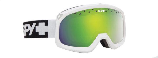 SPY Lyžiarske okuliare TREVOR - Matte White / Green