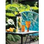 XD Design Fľaša s košíkom na ovocie - oranžová