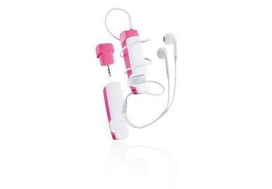 XD Design Jam - multifunkčné audio príslušenstvo 4 v 1 - ružové
