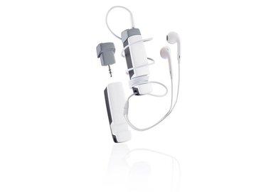 XD Design Jam - multifunkčné audio príslušenstvo 4 v 1 - biele