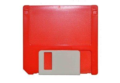 Puzdro zostava Disketa - červená
