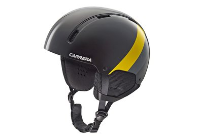 Carrera prilba CARRERA ID - čierna/žltá