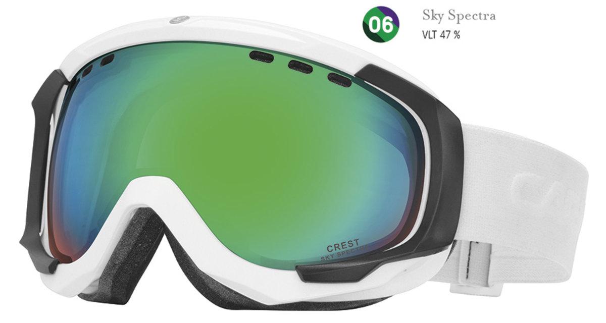 38ebb07a0 Lyžiarske okuliare Carrera CREST SPH - biele/sky - Cena 94,80 € K ...