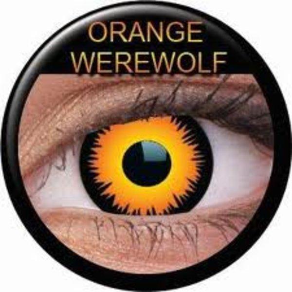ColourVue Crazy šošovky - Orange Werewolf (2 ks ročné) - nedioptrické - exp-12/2017