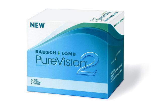 PureVision 2 HD (6 čoček) - Výpredaj - Exp. 02/2022