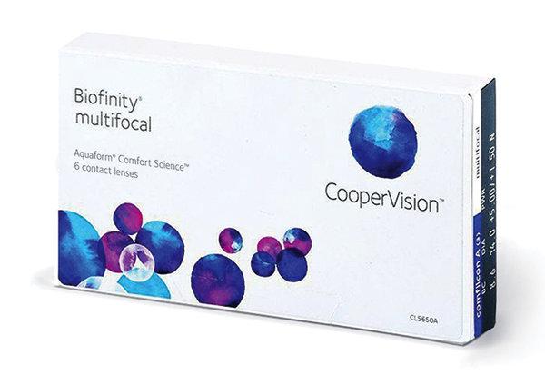 Biofinity Multifocal (6 šošoviek)