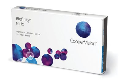 Biofinity Toric (3 šošovky) Výpredaj - Exp. 01/2021