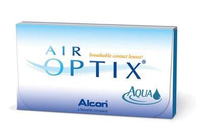 AIR Optix Aqua (3 šošovky) - Výpredaj - Expirácia 2022