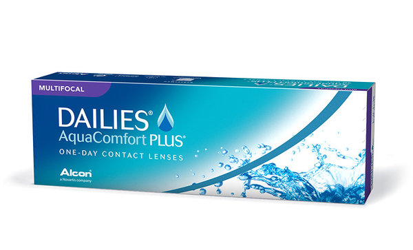 Dailies AquaComfort Plus Multifocal (30 šošoviek)