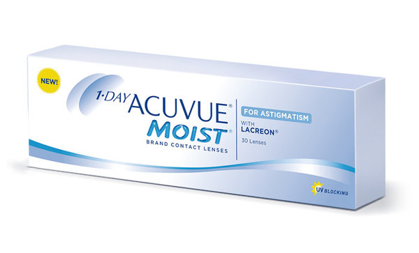 1 Day Acuvue Moist for Astigmatism (30 šošoviek)