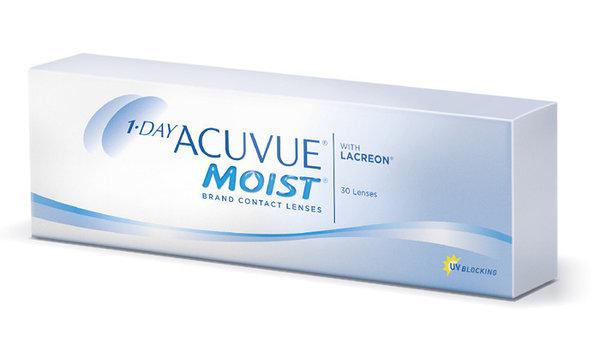 1-Day Acuvue Moist (30 šošoviek) - poškodený obal