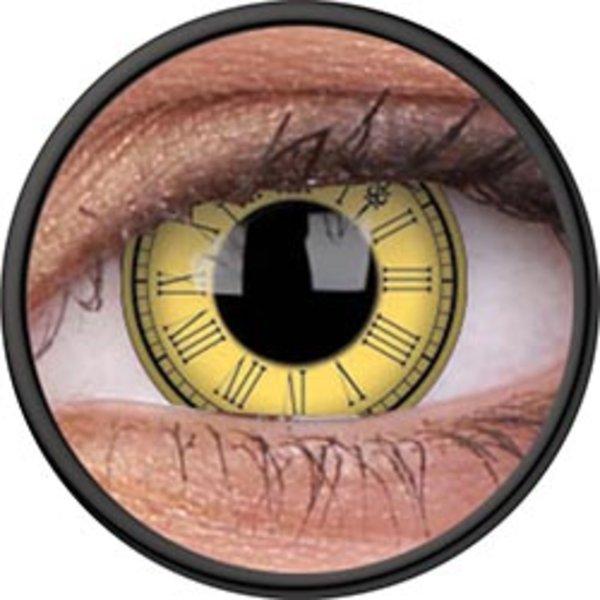 ColourVue Crazy šošovky - Timekeeper (2 ks ročné) - nedioptrické