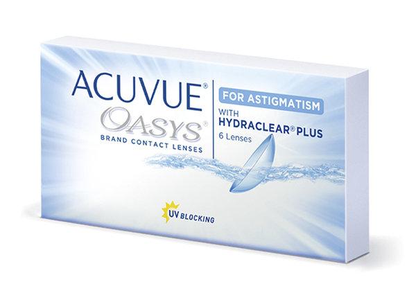 Acuvue Oasys for Astigmatism ( 6 šošoviek )