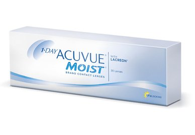 1-Day Acuvue Moist (30 šošoviek) - exp.2019