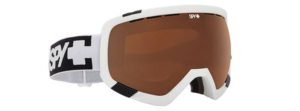 SPY Lyžiarske okuliare PLATOON - White / Bronze