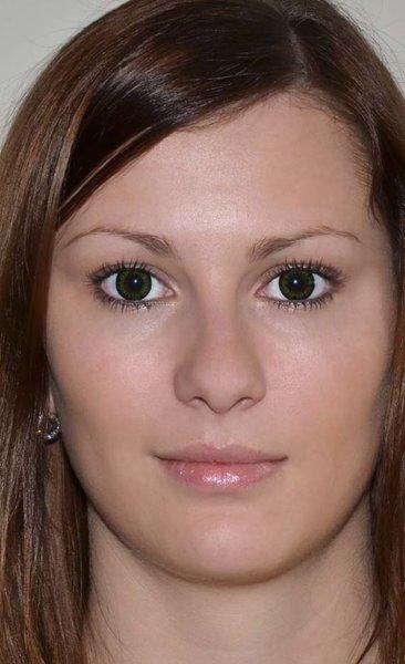 ColourVue Big Eyes - Party Green (2 šošovky trojmesačné) - dioptrické ·  Původní barva očí hnědá Be party green na původní barvě očí hnědé ... b882c9d7344