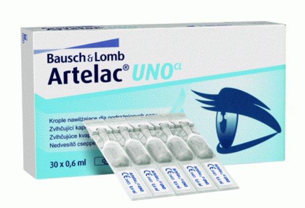 ARTELAC UNO CL 30x0,6 ml - exp.06/2017