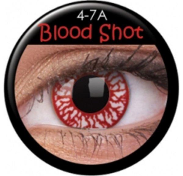 ColourVue Crazy šošovky - Blood Shot (2 ks ročné) - nedioptrické - poškodený obal