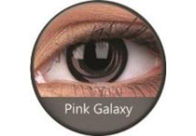 Phantasee Crazy šošovky - Pink Galaxy (2 ks ročné) - nedioptrické - exp.02/2021