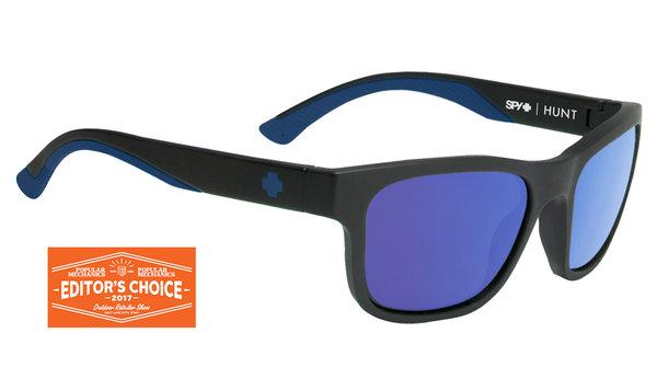 Slnečné okuliare SPY HUNT Matte Black - polarizačné