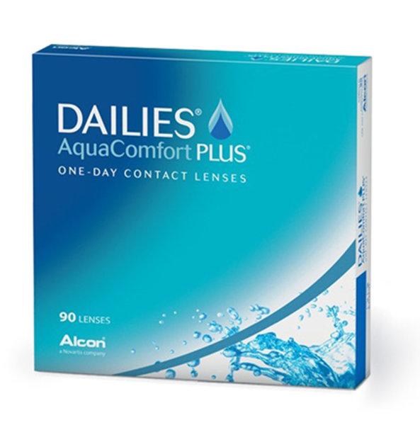 Dailies Aqua Comfort Plus (90 šošoviek)